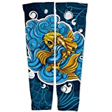 ScudoPro Doitsu Ogon Koi Compression Arm Sleeves UV Protection Unisex - Walking - Cycling - Running - Golf - Baseball...