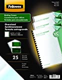 Fellowes Futura Premium Heavyweight Presentation Covers, Oversize, Frosted, 25 Pack (5224201)