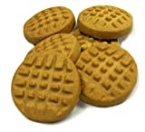 Honey's Bakery 164-Piece 1-3/4-Inch Old Fashion Peanut Butter Dog Cookies, 5-Pound