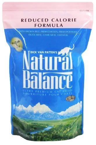 ナチュラルバランス ウルトラプレミアム リデュースカロリーフォーミュラ キャットフード 2.2ポンド (1kg)