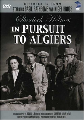 Sherlock Holmes in Pursuit To Algiers Cover