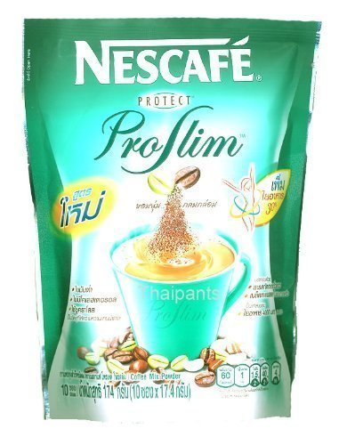 Nescafe Protect Proslim Diet Low Fat Coffee Mix Powder Made In Thailand