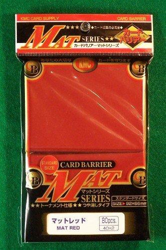 kmc-80-card-barrier-mat-series-rouge-mat-red-3-packstotal-240