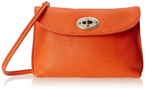 Fossil Monica Turnlock Crossbody 女式真皮挎包