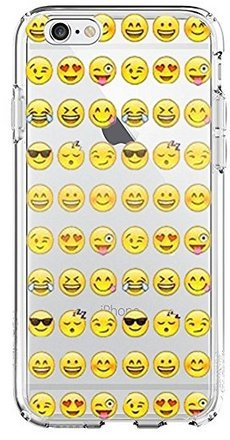 SHARK Cool Smiley Faces emoji Funky Case for iPod Touch 5-Clear (Shark Ipod Case compare prices)