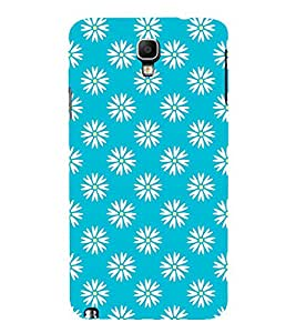 Floral Art 3D Hard Polycarbonate Designer Back Case Cover for Samsung Galaxy Note 3 Neo N7505