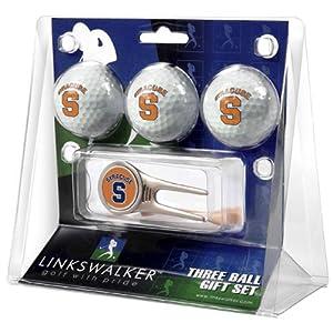 Syracuse Orangemen NCAA 3 Ball Gift Pack w  Cap Tool by LinksWalker