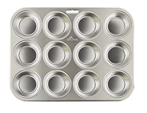 Fox Run Stainless Steel Muffin Pan
