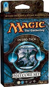 Magic 2011 Core Set Intro theme Pack: Power of Prophecy (Blue/White) [Toy]