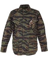 MFH BDU Vietnam Ripstop Combat Shirt Tiger Stripe