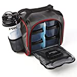 Jaxx FitPak with Portion Control Containers & Shaker Cup