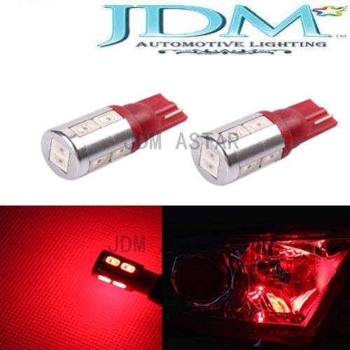 Jdm Astar Extremely Bright 5730 Smd 194 168 2825 W5W T10 Led Bulbs ,Brilliant Red