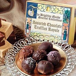 Brigittine Monastery Gourmet Confections Valentine Cherry Truffle in Gift Box
