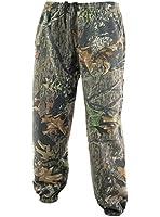 D08 Camouflage Tree Print Fleece Jogging Bottoms