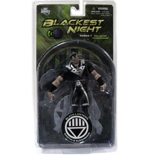 Picture of DC Direct Black Lantern Earth 2 Superman Blackest Night Series 1 (re issue) Action Figure (PreOrder) (B003LEN8MO) (Superman Action Figures)