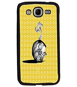 PrintDhaba Skull D-4372 Back Case Cover for SAMSUNG GALAXY MEGA 5.8 (Multi-Coloured)