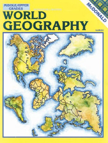Mcdonald Publishing MC-R656 World Geography