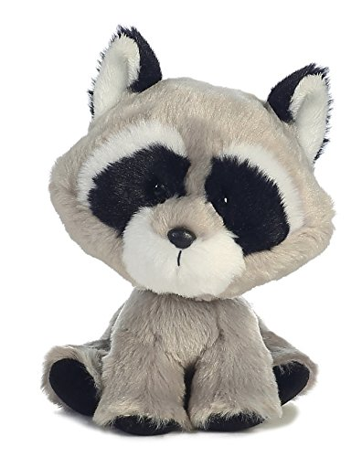 Aurora World Wobbly Bobblees/Raccoon Plush