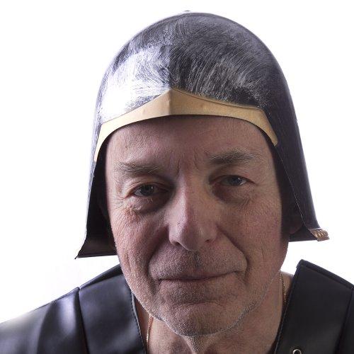 HMS Men's Gladiator Helmet, Black, One Size - 1