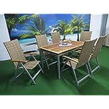 7-teilige Luxus Gartenmöbelgruppe