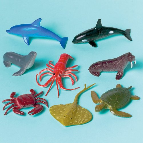 Underwater Friends Sea Animals Asst. (12 count)