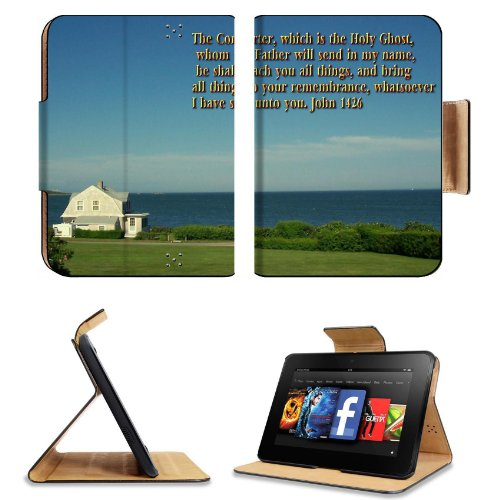 John Comforter Holy Father Teacher Amazon Kindle Fire Hd 7 [2012 Version Only September 14, 2012] Flip Case Stand Magnetic Cover Open Ports Customized Made To Order Support Ready Premium Deluxe Pu Leather 7 11/16 Inch (195Mm) X 5 11/16 Inch (145Mm) X 11/1 front-776145