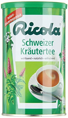 Ricola Instant Herbal Tea, 200g can by Ricola (Ricola Can compare prices)