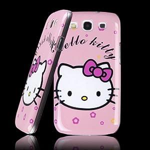Neu rosa cute hello kitty case handy h lle f r samsung galaxy s3 siii i9300 elektronik - Hello kitty fernseher ...
