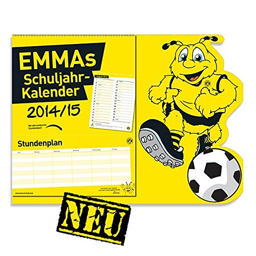 Borussia Dortmund EMMA s Schuljahr Kalender 2014 / 2015 BVB