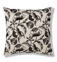Flocked Buds Cushion [T47-7395-S]