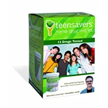 TeenSavers Home Drug Test Kit for 12 Drugs of Abuse - Parental Support Guide, 24/7 Support, and Free Lab Confirmation