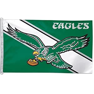 Philadelphia Eagles Big 3x5 Flag (Throwback) by WinCraft