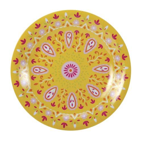 Cr Gibson Dena 11-Inch Plate, Sunshine front-319252