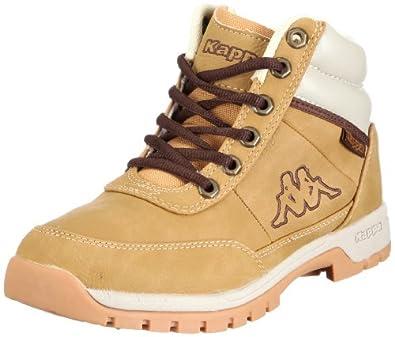 Kappa BRIGHT MID W Footwear women, Synthetic, Damen Hohe Sneakers, Beige (4141 BEIGE), 36 EU (3.5 Damen UK)