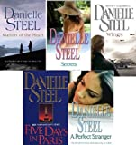 DANIELLE STEEL DANIELLE STEEL 5 BOOK SET COLLECTION MATTERS OF THE HEART SECRETS A PERFECT STRANGER WINGS & FIVE DAYS IN PARIS