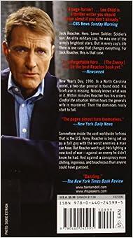 Jack Reacher: The Enemy w/ Bonus Material by Lee Child (2009, Paperback)