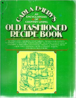 An old fashioned recipe book
