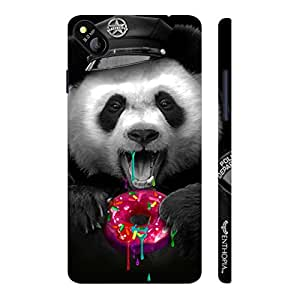 Micromax Bolt D303 Candy Panda designer mobile hard shell case by Enthopia