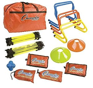Champion Champion Sports Speed And Agility Kit (colors may vary) by Champion Sports