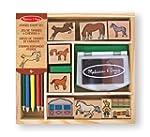 Melissa & Doug 12410 Horses Stamp Set
