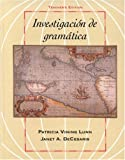 img - for Investigacion de gram tica book / textbook / text book
