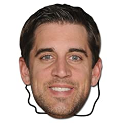 Buy NFL Green Bay Packers Aaron Rodgers Player Face Mask by Bleacher Creatures