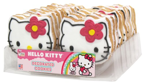 Hello Kitty 24 Count Decorated Cookie Tray