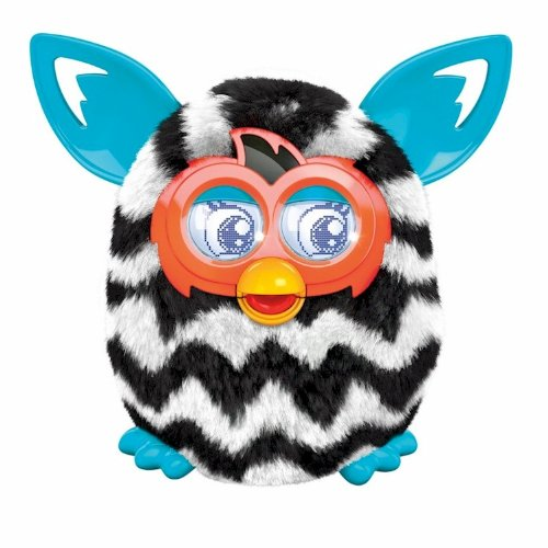 Furby Boom Zigzag Stripes with AA Batteries
