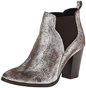 Seychelles Women's Madhouse Chelsea Boot,Pewter,8 M US