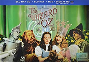 The Wizard of Oz: 75th Anniversary Limited Collector's Edition (Blu-ray 3D / Blu-ray / DVD)