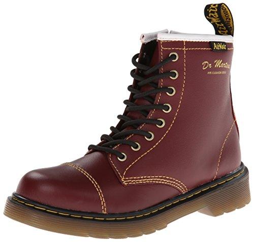 Dr. Martens Bruiser Boot (Toddler/Little Kid),Cherry Red,3 Uk (4 M Us Little Kid) front-414421