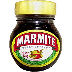 Marmite yeast extract in 125g jar