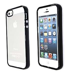 Soft transparent case Apple iphone 5/5s black