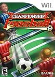 echange, troc WII CHAMPIONSHIP FOOSBALL [Import américain]